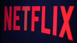 In this photo illustration the Netflix logo is seen on September 19, 2014 in Paris, France.