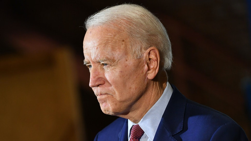 Democratic presidential candidate Joe Biden speaks to supporters during a campaign stop at Berston Field House in Flint, Michigan on March 9, 2020.