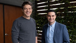 Ben Shapiro and Jason Blum
