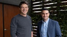 Ben Shapiro and Jason Blum