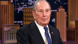 THE TONIGHT SHOW STARRING JIMMY FALLON -- Episode 1197 -- Pictured: Presidential candidate Michael Bloomberg during an interview on January 28, 2020 --