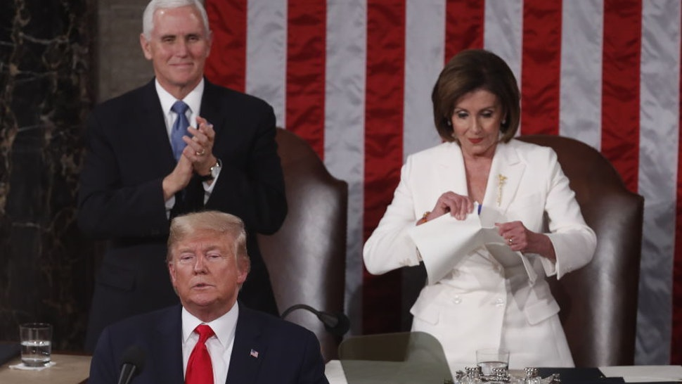 Trump Offers Backhanded Compliment To Pelosi For Her Appearance On His Least Favorite Morning Show