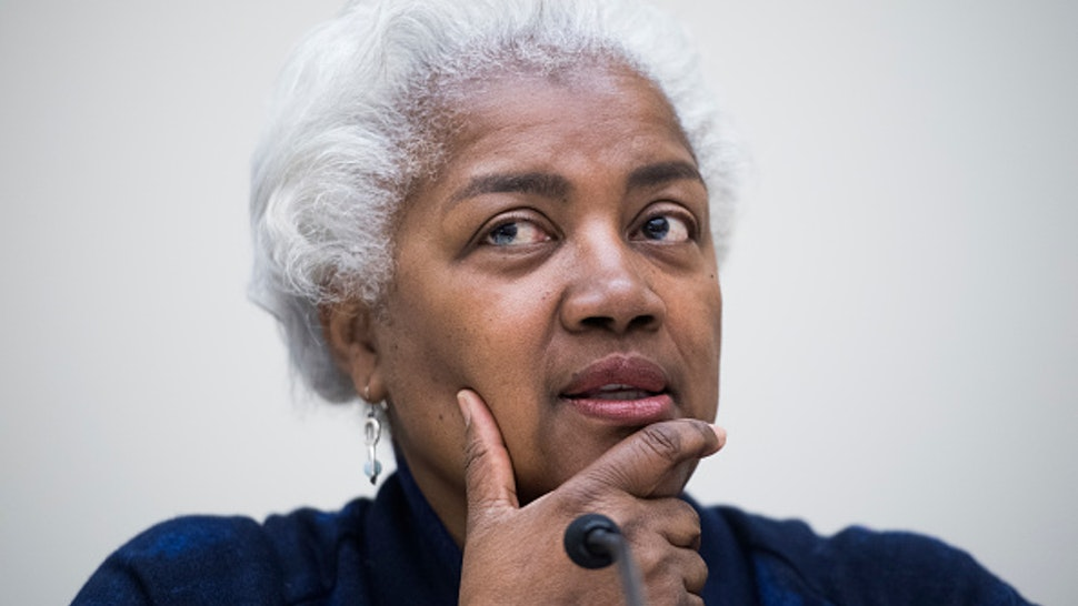 UNITED STATES - MARCH 19: Democratic strategist Donna Brazile, talks with students during a panel discussion with women leaders in Washington as part of Womens History Month in Rayburn Building on Tuesday March 19, 2019.