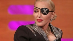 Madonna during the filming for the Graham Norton Show at BBC Studioworks 6 Television Centre, Wood Lane, London, to be aired on BBC One on Friday evening.