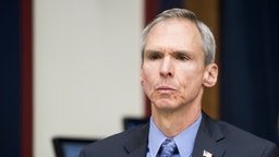"""UNITED STATES - JUNE 19: Rep. Dan Lipinski, D-Ill., participates in the House Transportation and Infrastructure Subcommittee on Aviation hearing on """"Status of the Boeing 737 MAX: Stakeholder Perspectives"""" on Wednesday, June 19, 2019. (Photo By Bill Clark/CQ Roll Call)"""