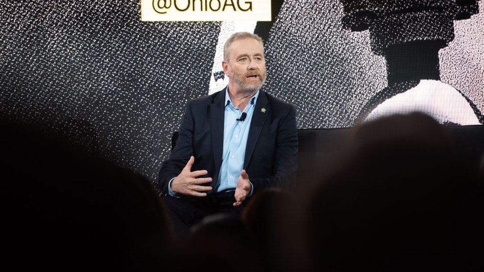 Dave Yost, Ohio's attorney general, speaks during the Power of Data: Sooner Than You Think global technology conference in the Brooklyn borough of New York, U.S., on Wednesday, Oct. 30, 2019.