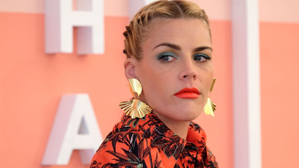 Busy Philipps speaks during #BlogHer20 Health at Rolling Greens Los Angeles on February 01, 2020 in Los Angeles, California