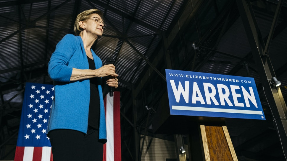 enator Elizabeth Warren, a Democrat from Massachusetts and 2020 presidential candidate, pauses while speaking during a rally in Detroit, Michigan, U.S., on Tuesday, March 3, 2020. The biggest day of the presidential primary calendar will define the nomination fight for Bernie Sanders and Joe Biden and determine whetherMichael BloombergandWarrenhave a rationale for carrying on their campaigns. Photographer: Erin Kirkland/Bloomberg via Get