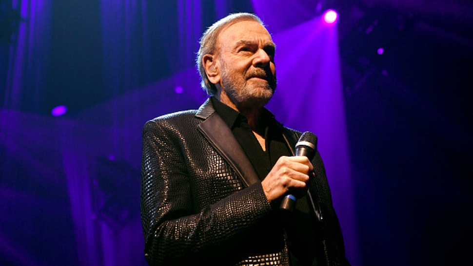 LAS VEGAS, NEVADA - MARCH 07: Neil Diamond performs onstage at the 24th annual Keep Memory Alive 'Power of Love Gala' benefit for the Cleveland Clinic Lou Ruvo Center for Brain Health at MGM Grand Garden Arena on March 07, 2020 in Las Vegas, Nevada