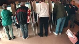 Illinois voting booth