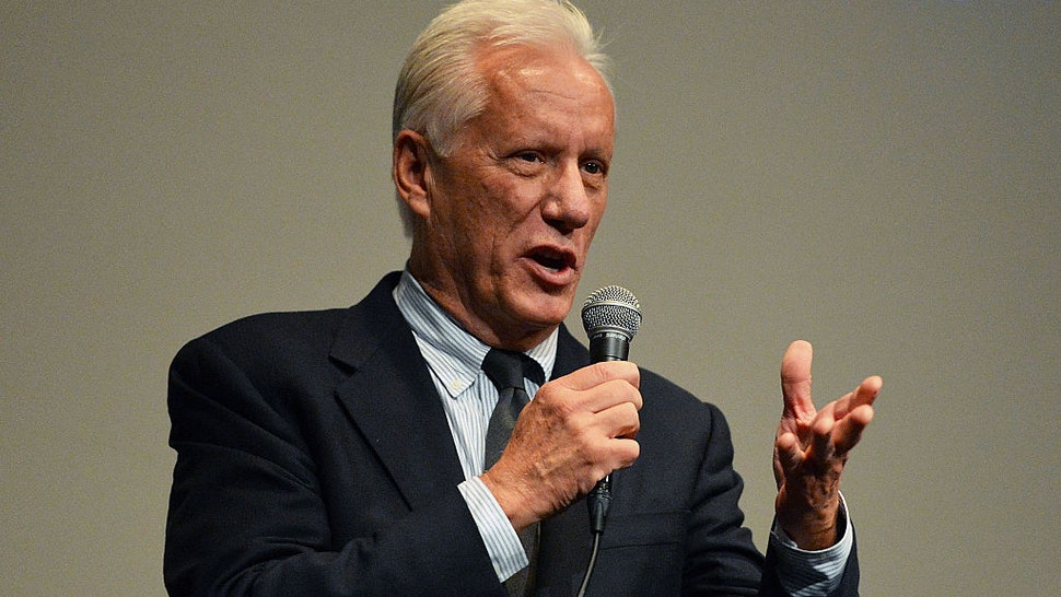 """""""Once Upon A Time In America"""" cast member James Woods attends the 52nd New York Film Festival at Walter Reade Theater on September 27, 2014 in New York City."""