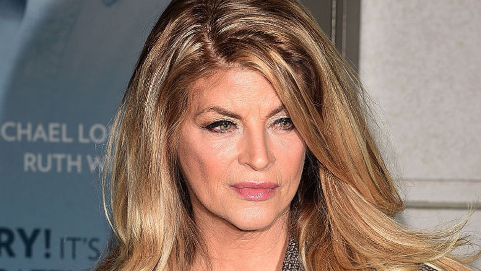 """Kirstie Alley attends """"Constellations"""" Broadway opening night at Samuel J. Friedman Theatre on January 13, 2015 in New York City."""