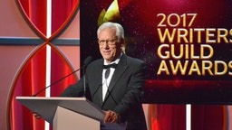 Actor James Woods speaks onstage during the 2017 Writers Guild Awards L.A. Ceremony at The Beverly Hilton Hotel on February 19, 2017 in Beverly Hills, California.