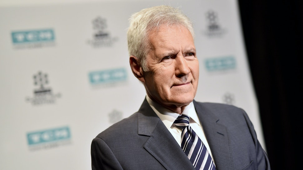 LOS ANGELES, CA - APRIL 07: TV personality Alex Trebek attends the screening of 'The Bridge on The River Kwai' during the 2017 TCM Classic Film Festival on April 7, 2017 in Los Angeles, California. 26657_004 (Photo by Emma McIntyre/Getty Images for TCM)