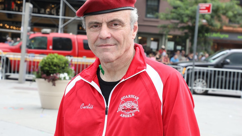 Curtis Sliwa attends the 2018 NYC Pride March on June 24, 2018 in New York City.