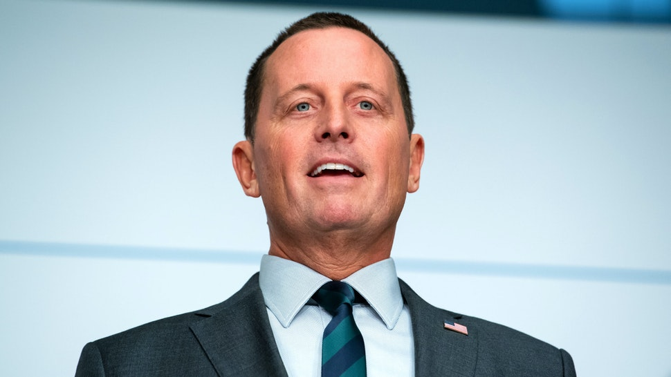 FILED - 14 February 2020, Bavaria, Munich: Richard Grenell, Ambassador of the United States of America to Germany, speaks on the first day of the 56th Munich Security Conference. Grenell becomes the acting intelligence coordinator at the White House.
