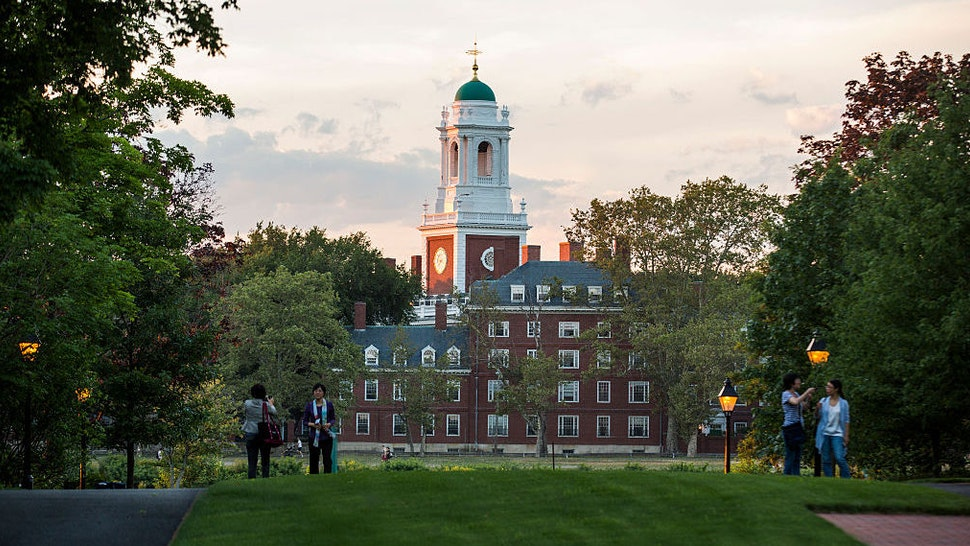 The campus of Harvard Business School and Harvard University, July 26, 2016 in Boston, Massachusetts. Harvard, one of the most prestigious business schools in the world, emphasizes the case method in the classroom. (Photo by Brooks Kraft/Corbis via Getty Images)