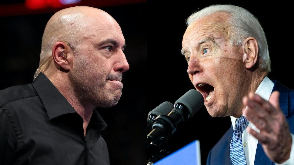 Joe Rogan Joe Biden