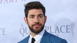 """NEW YORK, NEW YORK - MARCH 08: Actor John Krasinski attends the """"A Quiet Place Part II"""" World Premiere at Rose Theater, Jazz at Lincoln Center on March 08, 2020 in New York City."""