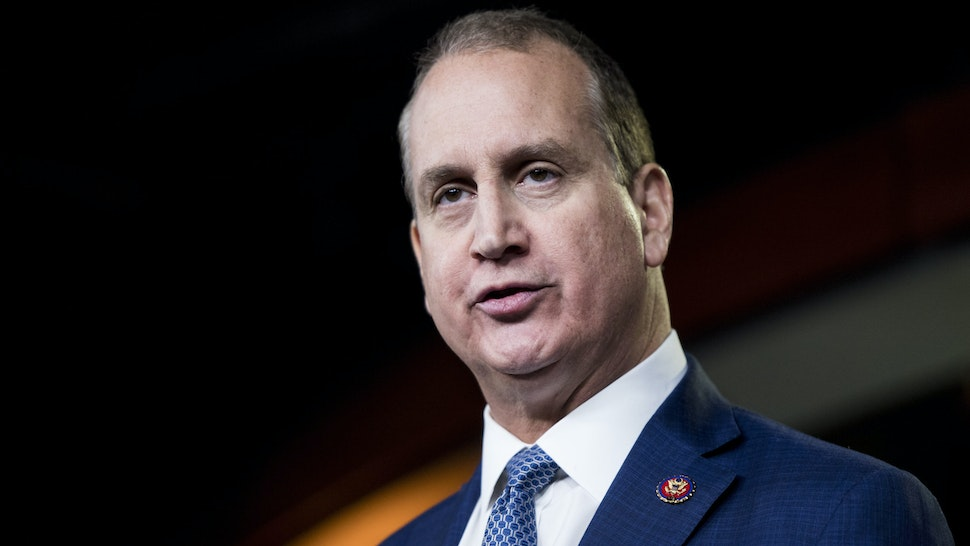 UNITED STATES - FEBRUARY 26: Rep. Mario Diaz-Balart, R-Fla., speaks about Cuba during the House Republicans weekly news conference on Wednesday, Feb. 26, 2020, in reaction to Bernie Sanders recent comments about Cuba.