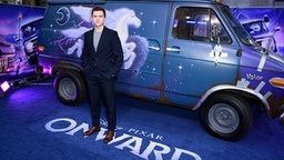 "LONDON, ENGLAND - FEBRUARY 23: Tom Holland attends the UK Premiere Of Disney And Pixar's ""Onward"" at The Curzon Mayfair on February 23, 2020 in London, England."