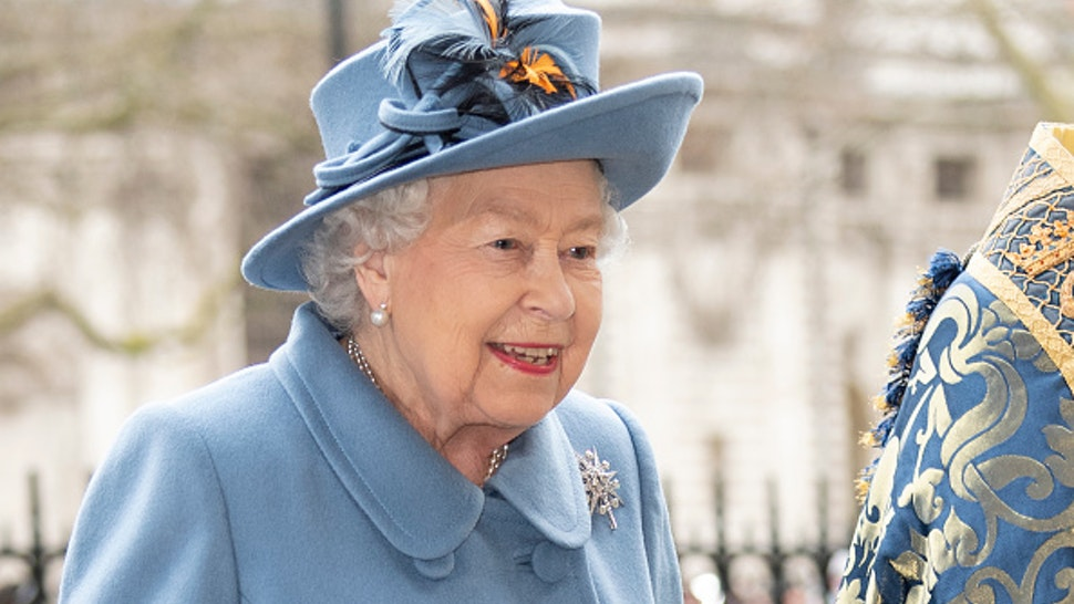 LONDON, ENGLAND - MARCH 09: Queen Elizabeth II attends the Commonwealth Day Service 2020 at Westminster Abbey on March 9, 2020 in London, England.