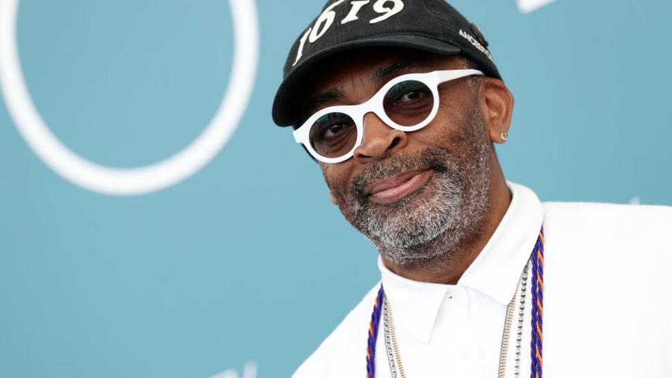 "Spike Lee attends ""American Skin"" photocall during the 76th Venice Film Festival at Sala Grande on September 01, 2019 in Venice, Italy."