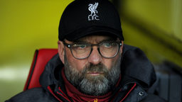 Jurgen Klopp manager of Liverpool during the Premier League match between Watford FC and Liverpool FC at Vicarage Road on February 29, 2020 in Watford, United Kingdom.