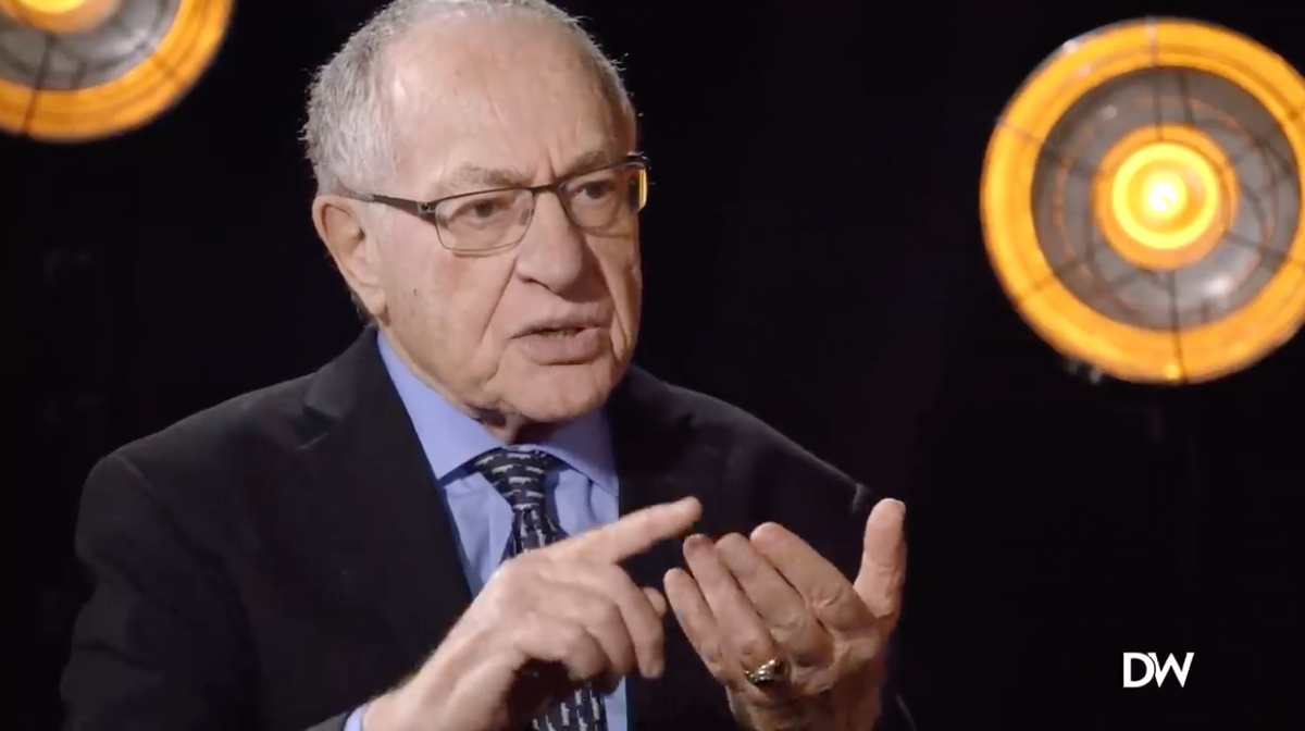 Alan Dershowitz: 'Idiots' On CNN 'Lied' About My Trump Comments And I'll Likely Sue Them; Hints At New 1A Media Standard