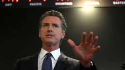 California Gov. Gavin Newsom speaks during a news conference at the California Department of Public Health on February 27, 2020 in Sacramento, California.