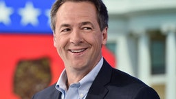 """NEW YORK, NY - MAY 15: Governor of Montana and democratic presidential candidate Steve Bullock visits """"The Daily Briefing"""" with Dana Perino at Fox News Channel Studios on May 15, 2019 in New York City."""