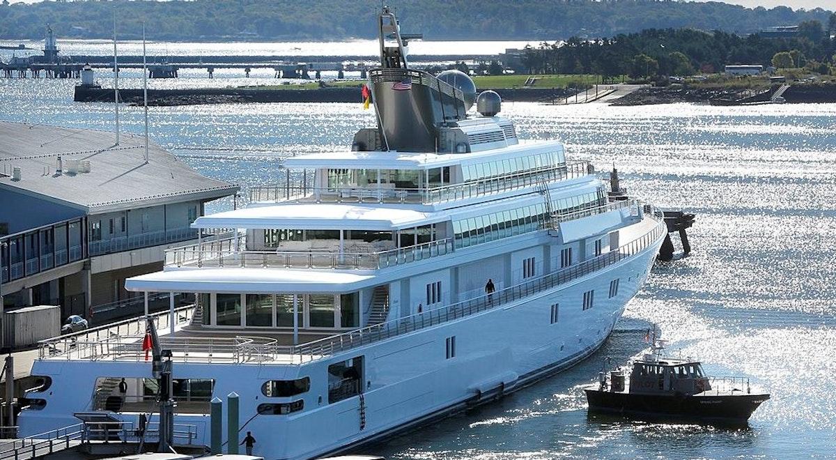 Billionaire Blasted For Tone Deaf Photo Of His Self-Quarantine — On 450-Foot Superyacht