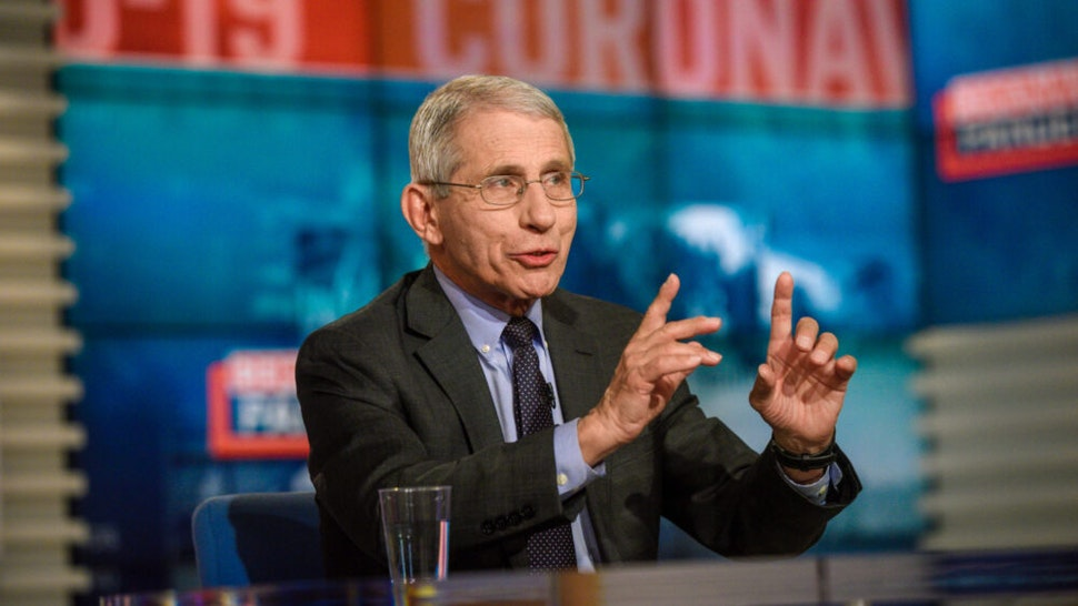 "Dr. Anthony Fauci, Director, National Institute of Allergy and Infectious Diseases, appears on Meet the Press"" in Washington, D.C., Sunday, March 15, 2020."