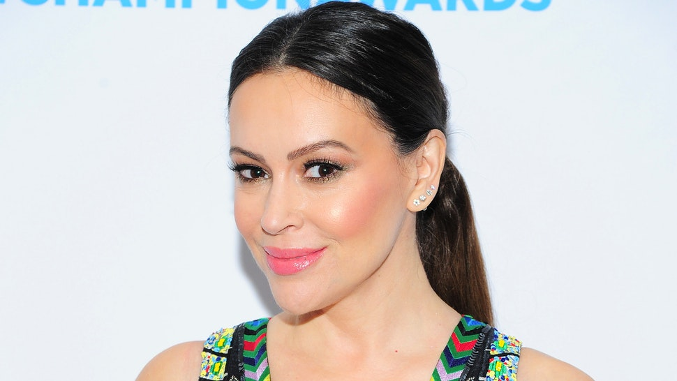 NEW YORK, NY - APRIL 9: Alyssa Milano attends Safe Horizon's Champion Awards at The Ziegfeld Ballroom on April 9, 2019 in New York City.