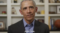 In this screengrab taken from Twitter.com, former U.S. President Barack Obama endorses Democratic presidential candidate former Vice President Joe Biden during a video released on April 14, 2020. (Via Getty Images)