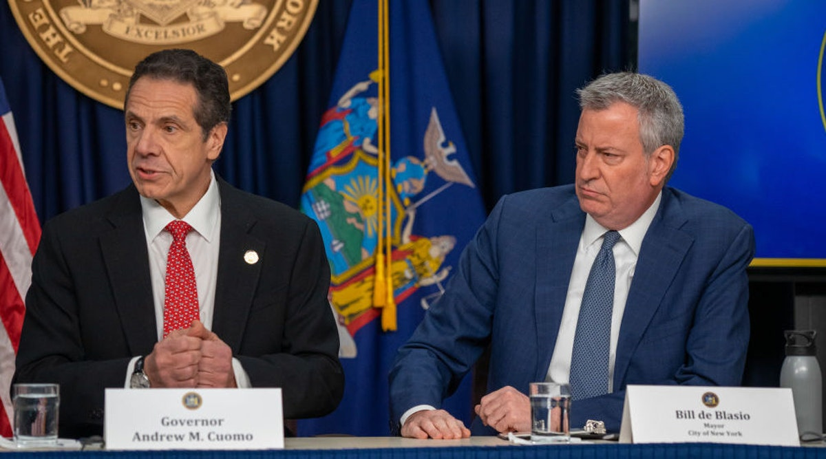 NYT Calls Out De Blasio, Cuomo For Coronavirus Failures; Readers: Thanks For Finally Saying Something
