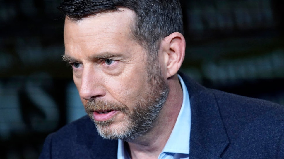 """Political strategist David Plouffe visits """"Wall Street At Large"""" at Fox Business Network Studios on March 04, 2020 in New York City. (Photo by John Lamparski/Getty Images)"""