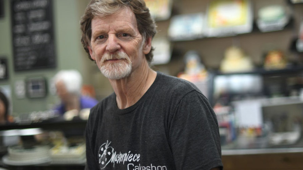 Baker Jack Phillips, owner of Masterpiece Cakeshop, manages his shop in Lakewood, Colo. August 15, 2018.