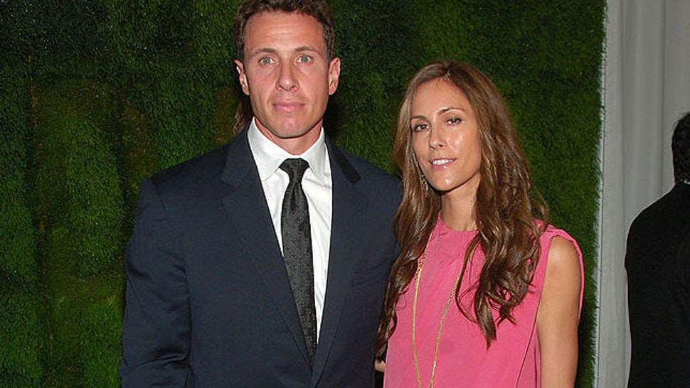 Anchorman Chris Cuomo and wife Cristina Cuomo attend MoMA's 40th Annual Party in the Garden on June 10, 2008 at The Abby Aldrich Rockefeller Sculpture Garden of The Museum of Modern Art in New York.