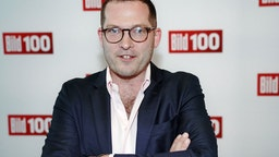 """Bild"" editor-in-chief Julian Reichelt at the beginning of the Bild100 party with personalities from politics, society and sport."