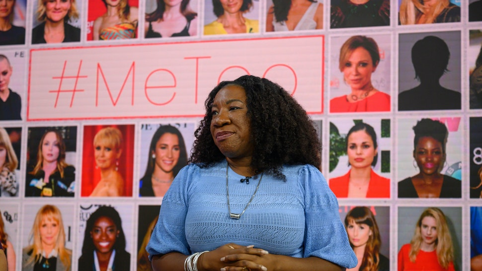 TODAY -- Pictured: Tarana Burke on Thursday, October 17, 2019 -- (Photo by: Nathan Congleton/NBC/NBCU Photo Bank via Getty Images)