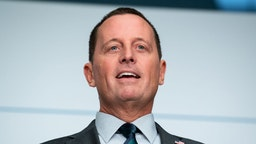14 February 2020, Bavaria, Munich: Richard Grenell, Ambassador of the United States of America to Germany, speaks on the first day of the 56th Munich Security Conference. Grenell becomes the acting intelligence coordinator at the White House.