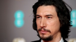 LONDON, ENGLAND - FEBRUARY 02: Adam Driver attends the EE British Academy Film Awards 2020 at Royal Albert Hall on February 02, 2020 in London, England. (Photo by Mike Marsland/WireImage )
