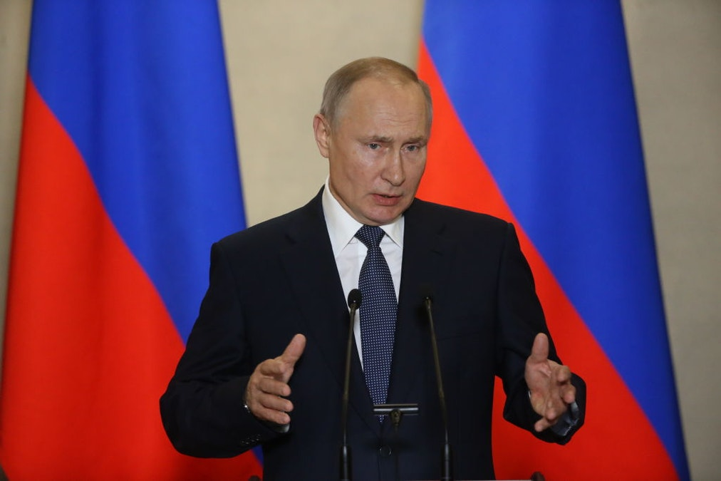 Putin Will 'Work Remotely' After Meeting Doctor Who Tested Positive For Coronavirus