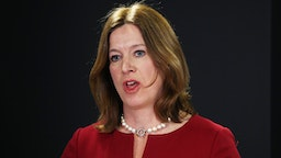Chief Medical Officer for Scotland Catherine Calderwood speaking during a briefing on coronavirus in Edinburgh as the UK's coronavirus death toll reached 144 as of 1pm on Thursday.
