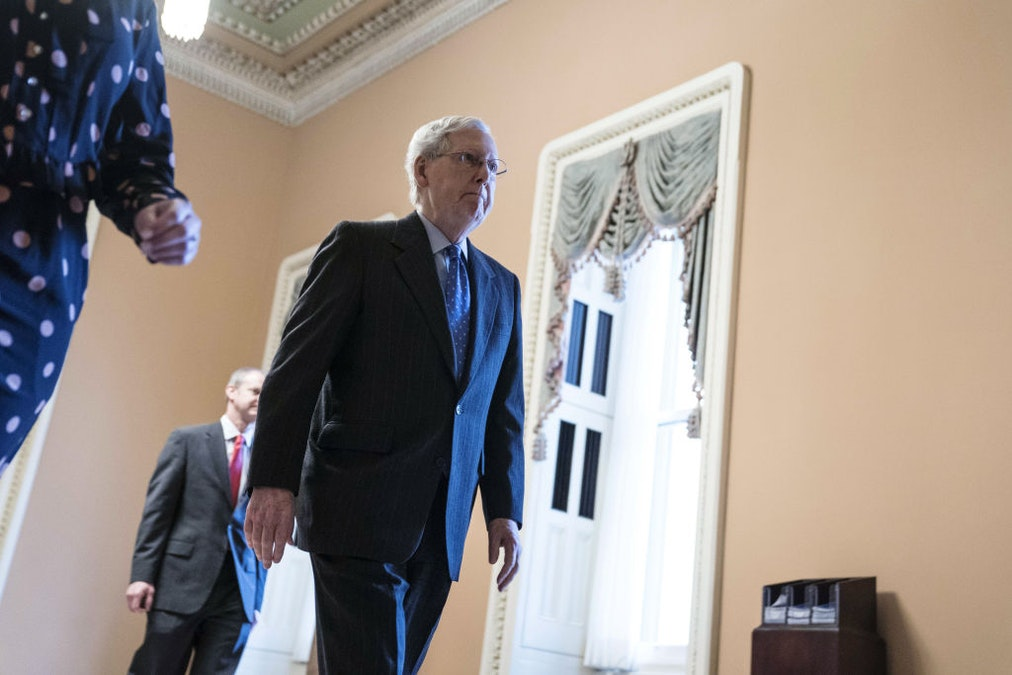 Leftists Upset That McConnell Might Fill SCOTUS Vacancy During Virus Crisis. McConnell: Yup.