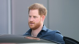 NORTHAMPTON, ENGLAND - MARCH 06: Prince Harry, Duke of Sussex arrives to officially open The Silverstone Experience at Silverstone on March 06, 2020 in Northampton, England. (Photo by Chris Jackson/Getty Images)