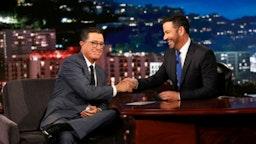 Kimmel, Colbert