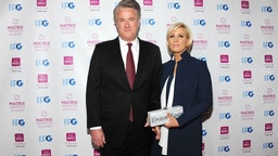 TV co-host Joe Scarborough and news presenter Mika Brzezinski attend 2018 Matrix Awards at Sheraton New York Times Square on April 23, 2018 in New York City.