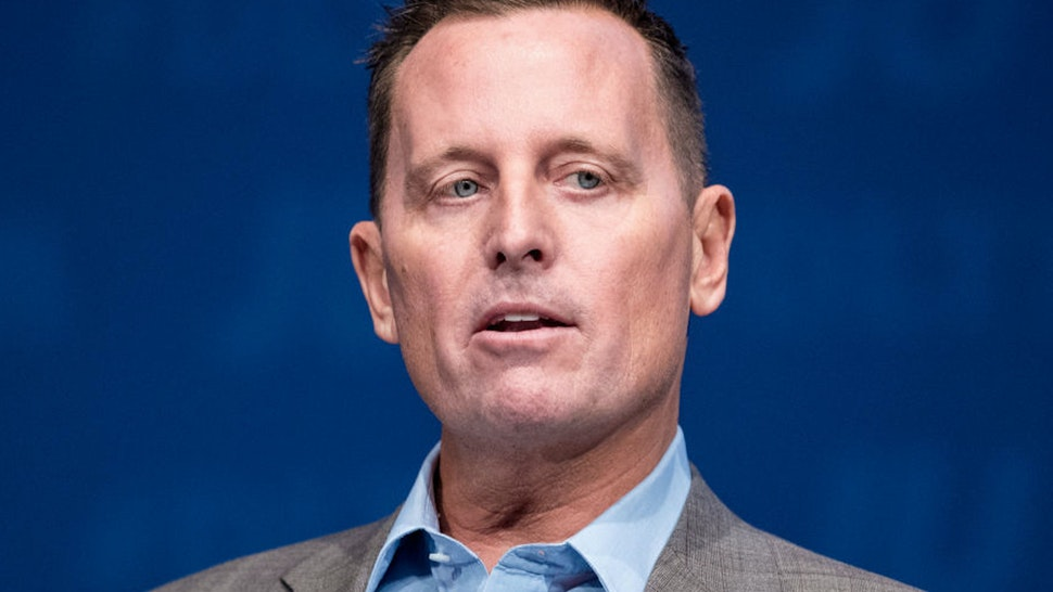 05 October 2018, Schleswig-Holstein, Kiel: Richard Grenell, US Ambassador to Germany, speaking during the Germany Day of the Young Union (JU). Grenell acknowledged the close relations between Germany and the USA, but at the same time reaffirmed the demands made by US President Trump to Germany and the EU. Photo: Daniel Bockwoldt/dpa